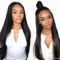 Alibele Straight Front Hair Wigs 13x4 Long Short Bob Swiss F...