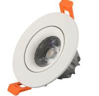 جديد LED عكس الضوء النازل البوليفيين 3W 5W 7W 9W 12W الكوز راحة النازل 85-265V السوبر مشرق الإضاءة في الأماكن المغلقة LLFA