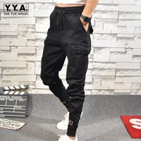 New Arrival Pants Fashion Embroidery Casual Pants Men Slim F...