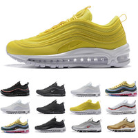 2019 New AIR shoe bright citron pink running shoes mens Blue...