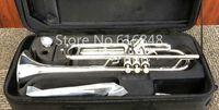 جوبيتر JTR-1100 جودة عالية النحاس الفضة مطلي bb البوق جديد وصول موسيقية اللؤلؤ زر مع المعبرة والقضية