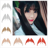 Colorful Hot Home Festive Mysterious Elf Ears fairy Cosplay ...