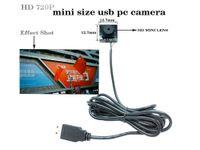 720p HDビデオ監視UVC USBカメラミニカメラモジュールCCTV PCBボードCMOS PCウェブカメラサポートWindowsコンピュータ
