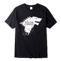 Stark cotton short sleeve Game of Thrones Men T- shirt casual...