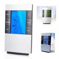 Promotion LCD thermomètre hygromètre Direction pluie Pression Vitesse du vent sans fil APP Prévisions Données d'intérieur Alarme
