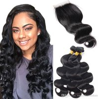 Brazillian Body Wave Virgin Human Hair Weave 3 Bundles With ...