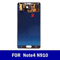 Écran tactile d'origine Digitzer LCD pour Samsung Galaxy Note4 N910P N910A N910F N910V N910T écran LCD de remplacement Livraison gratuite