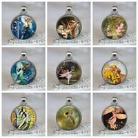 فقاعة الباليه الجنية قلادة خرافة اليدوية الزجاج كابوشون مجوهرات النساء قلادة فضية سلسلة هدية عيد للفتيات