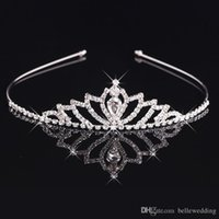 Bridal Tiaras Crowns With Rhinestones Bridal Jewelry Girls T...