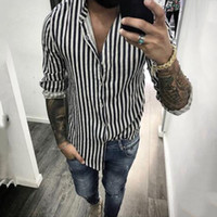 good quality Casual Shirt Men Clothes 2019 Streetwear Fashio...