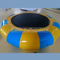 Water Bouncer for Sale Large 5m Diameter Inflatable Trampoline Adult Size Bouncy Jumping Games Outdoor Free Pump Free Shipping