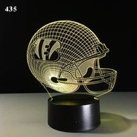 Football 3D Stylish LED Lamp Touch Sensor Football Shaped 3D...