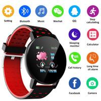 2020 venda quente 119Plus Bluetooth Smart Watch GPS À Prova D 'Água SIM câmera tela 3d relógio