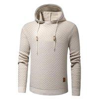 Maglioni da uomo Plus Size 3XL Uomini Molla Molla Cotone caldo maglia maglione pullover Autum Modello 3D Casual Cappotto Cappotto con cappuccio Pull Homme