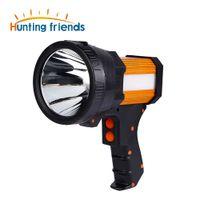Caçando Amigos Recarregáveis Spotlight Coon Caça Luzes Super Bright Handheld Lanterna Searchlight com Usb Power Charger
