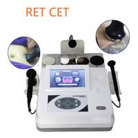 Physic Therapi Tecar RET CET RF 단파기 지더러기 주름 제거 Cet Ret RF Beauty Machine for Face Lifting