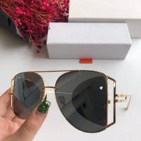 金属メンズ女性のデザイナーサングラスファッションサングラスAdumbral Goggle車の運転メガネUV400モデル110 6色の高品質