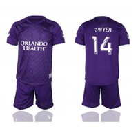 Nouvelle saison 19 20 Orlando City Home Suit 19 maillots de football # 14 DWYER Uniforme de Football Ventes
