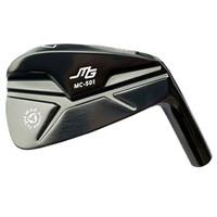 새로운 골프 헤드 미우라 MG MC-501 골프 아이언 세트 4-9 P IRONS 헤드 없음 샤프트 단조 클럽 파란색 또는 검정색 무료 배송