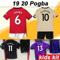 19 20 POGBA ALEXIS Kids kit Soccer Jersey MATA Home Away 3rd...