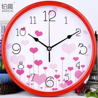 Mute Fashion Cartoon Wall Clock Children Bedroom Living Room...
