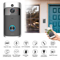HD 720P WiFi Video Doorbell Camera IR Night Vision Two- Way A...