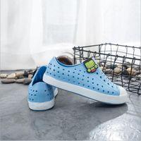 Parejas TeenShoes sandalias de moda para niños Venta en caliente agujero Zapatos de marca para Niños Niñas Niños Nativo Zapatillas Tamaño 28-44 # 8