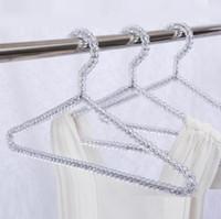 أزياء الاكريليك الخرز شماعات النساء التنانير ملابس عرض اللباس سيدة الملابس الشماعات كريستال شحن مجاني SN2481