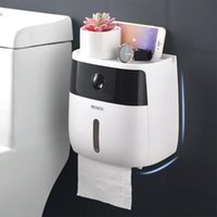 Tissue Paper Box Holder Wall Mounted Toilet Tissue Dispenser...