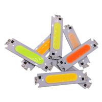Modulo circuito integrato 60x15mm COB LED 12V 2W LED raffreddare Super 8 colori facoltativi lampada principale luce della lampada fai da te, bianco, bianco caldo, rosso, verde, blu
