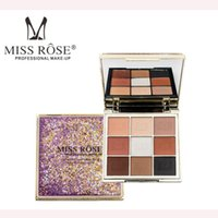 MISS ROSE Professional Eye Makeup 9 Colors Eyeshadow Palette...