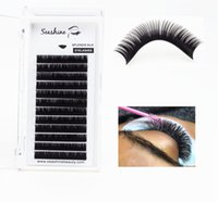 Seashine Maquillage Cils synthétique 100% fait main Lashes individuels 12Lines J / B / C / C / D / L Lashes individuel Fournitures Extension Accept OEM