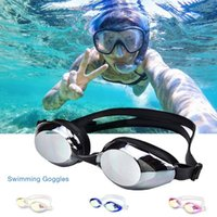 Anti Fog Swimming Goggles UV Protection Diving Glasses Mirro...