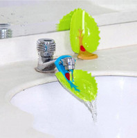 Chidlren Cartoon Sink Baby Bad Tap Dier Badkamer Keuken Water Kraan Extender Voor Hand Wassen Plastic Shampoo Cap GA715