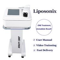 2019 Newst liposonix 바디 슬리밍 기계 FDA 승인 비 수술 뚱뚱한 치료 liposonix 홈 살롱 사용 체중 감량 lipo 레이저 기계