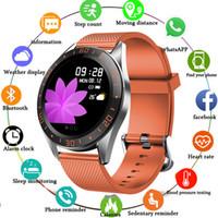 """1,22"""" pantalla a color de presión pulsera inteligente Banda Actividad rastreador de ejercicios monitor de ritmo cardíaco sangre SpO2 Música control remoto"""