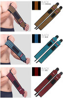 1 Pair Wrist Band Men Adjustable Wristband Brace Wrap Bandag...