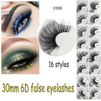 30mm 6D mink lashes extra length mink eyelashes Big dramatic...
