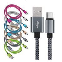 1M 2M 3M Liga de alumínio Tipo Cabines de carregamento USB para Samsung Galaxy S4 S6 S7 Nota 2 4 MP3