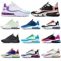 nike air max 270 react réagir hommes chaussures de course BLANCHIS CORALGRADIENT COLORWAY Sug8r triple Balck gratuit BAUHAUS OPTICAL chaussures de sport taille 36-45