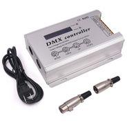 Sterowniki RGB, wysoki napięcie 110V-240V DMX DECODER LED Neon Strip Light Controller 3CH x 2A 660W dla DC100-240 V LEDS Oświetlenie