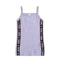 Summer Children Girls Vest dress Camisole Kids Sleeveless Sh...