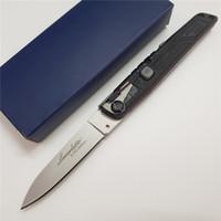 Bestpreis! Italienisch Bill DeShivs Leverletto Horizontal Einzel Aktion Automatische taktische Messer-kampierende Jagd-Überlebens-Messer EDC F125 Werkzeuge