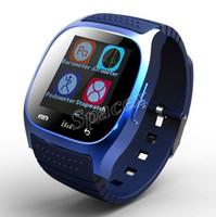 Di vendita caldo M26 Smartwatches Bluetooth Wireless Wearable Smart Device Guarda per iPhone Samsung S10 HUAWEI OPPO Xiaomi + scatola al minuto
