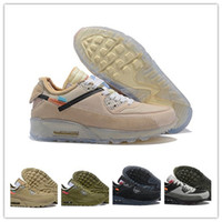 size 40 66c24 3fe1c Wholesale off white shoes for sale - mens Off Running Shoes Sneakers  Zapatillas Hombre Ore Brown