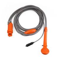 Ad alta pressione pompa ad acqua auto 12V Camper Caravan Car Care Automobile elettrica Doccia portatile di lavaggio strumento Rondella Auto Part