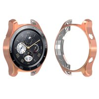 For Huawei Watch 2 PRO Case, TPU Scractch- Resistant Frame Sh...