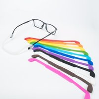 Silicone Eyeglasses sunglasses Strap Holder Sports Kids Eye ...