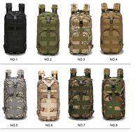 التكتيكية حقيبة الظهر العسكرية أكسفورد الرياضة حقيبة رخوة الظهر 30L للتخييم وتسلق حقائب السفر المشي لمسافات طويلة حقائب الصيد 2019