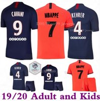 2019 2020 Paris PSG mbappe Adult and kids kit soccer Jerseys...